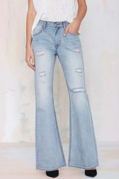Nasty Gal Denim - The Raise Bell