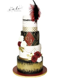 Call or email to order your celebration cake today! 20s Wedding, Great Gatsby Wedding, Wedding Cakes, Mission Inn, Cakes Today, Cupcake Wars, Cake Decorating Tips, Celebration Cakes, Custom Cakes