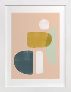 """""""balance no.2"""" - Art Print by Lindsay Stetson Thompson in beautiful frame options and a variety of sizes."""