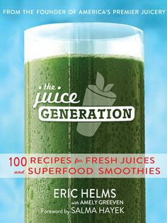 Kristen Bell Shares Her Sweet 'n' Creamy Green Juice Recipe in the New Juice Generation Cookbook : The activist and actress shares her feel-good secret. #SelfMagazine