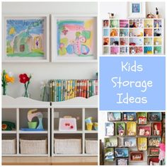 Storage And Organization Ideas For Kids Rooms. SpielzeugStauraumKinderzimmer  ...