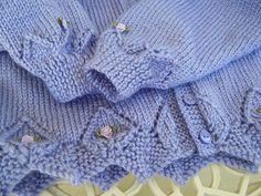 Ravelry: Lace-edged Cardigans pattern by Sirdar Spinning Ltd. Sirdar Knitting Patterns, Baby Cardigan Knitting Pattern Free, Baby Sweater Patterns, Baby Girl Patterns, Knit Baby Sweaters, Knitted Baby Clothes, Baby Hats Knitting, Baby Knits, Diy Crochet Cardigan