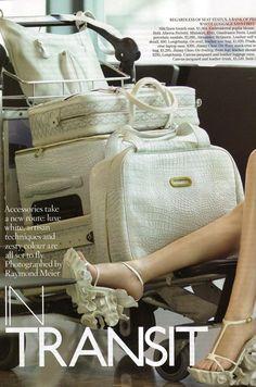 fakingfashion: Vogue UK February 2011 | In Transit
