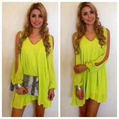 #neon #dress