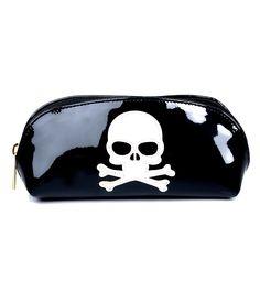 9412dcb91c8 Black   White Skull Glasses Case Glasses Case