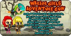 Warrior Girls -Adventure Gun --Admob -Eclipse project and multi character and worlds - Price $19