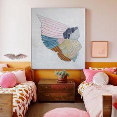 color block wall trend
