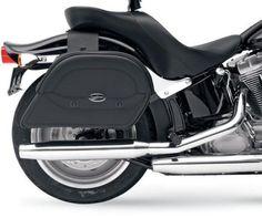 2010 2011 2012 Honda VT750 Shadow Phantom Large Saddlebags w Supports   eBay