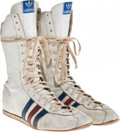 """A Pair Of Boxing Shoes From """"Rocky IV."""" MGM/UA,"""