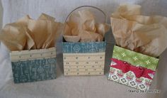 Stamp & Scrap with Frenchie: No Fuss Box Video Great for storing cards or craft supplies. Also good for home baked goodies as a gift.