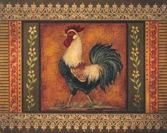 Mediterranean Rooster VII