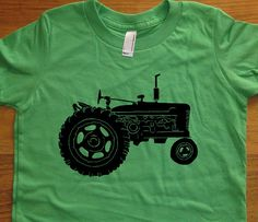Hey, I found this really awesome Etsy listing at http://www.etsy.com/listing/94013485/tractor-shirt-kids-shirt-farm-shirt-7