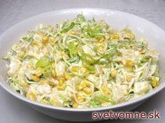 Zelerový fit šalát s ananásom • Recept   svetvomne.sk