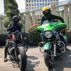 Puasa ?? Riding aja dulu 🤪... . . . . . . . . . . #streetglidecvo #cvo #harleydavidson #milwaukeeusa #mogeindonesia #sporster #fourtyeight…