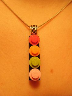 Nothing says I love you like a Lego necklace