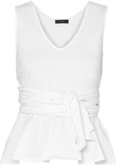 15263 best fashion for all women images on pinterest in 2018 boots Donna Karan Black Lace Dress j crew claire tie front cotton jersey top white