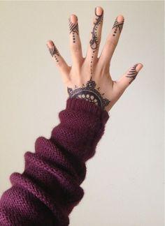 henna/ patterns