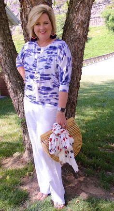 50 IS NOT OLD   A CASUAL 4TH OF JULY   FASHION OVER 40