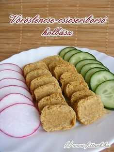 voroslencse-csicseri-kolbasz2 Vegetarian Recipes, Healthy Recipes, Healthy Food, Protein, Keto, Blog, Healthy Foods, Vegetarische Rezepte, Healthy Food Recipes