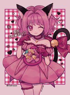 Manga Anime, Me Anime, Cute Little Drawings, Cute Drawings, Tokyo Mew Mew Ichigo, Mermaid Melody, Anime Animals, Anime Shows, Character Design Inspiration
