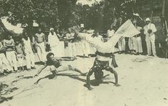 Nestor Capoeira My first master teaching me for over 15 years even though we never met.