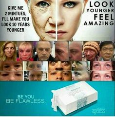 Wrinkle miracle in just 2 minutes Instantly ageless BOTOX alternative 5 sachets #jeunesse