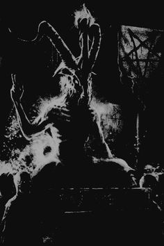 Dark Images, Dark Pictures, Dibujos Dark, Black Phillip, Satanic Art, Arte Obscura, Occult Art, Demonology, Bizarre