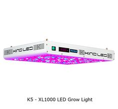 The K5 – XL1000 LED Grow Light Free Shipping and Free Ratchet Hangers!