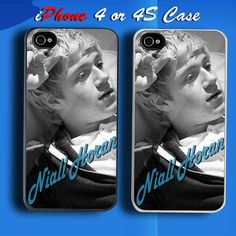 Niall Horan 1D One Direction Custom iPhone 4 or 4S Case Cover