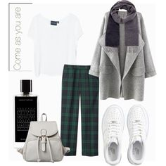 23.10.15 by caglatersak on Polyvore featuring polyvore, fashion, style, MINKPINK, Uniqlo, NIKE, Wood Wood, Agonist, nike and popculture
