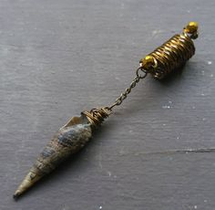 Sea Shell Loc Bead Dreadlock Bead Dread Bead Tarnished