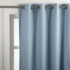 Lovely Pale Blue Curtains
