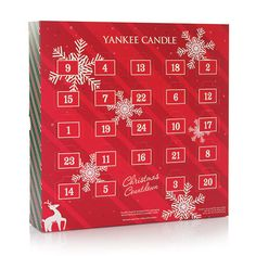 Advent beauty calendars are huge right now but if they aren't your thing perhaps I can tempt you with the Yankee Candle Christmas Countdown Calendar!
