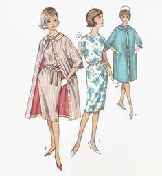 Vintage Simplicity 4359 Sewing Pattern  by EightMileVintageSews