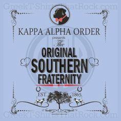 Kappa Alpha Order The Original Southern Fraternity