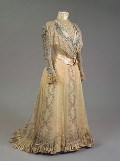 Dress of Empress Maria Fyodorovna Charles Frederick Worth's  1898