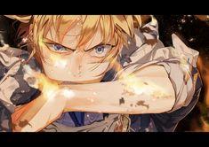 Enchanted World Online Old Anime, Anime Guys, Manga Anime, Anime Art, Touken Ranbu Characters, Anime Characters, Mutsunokami Yoshiyuki, Art Of Fighting, Enchanted