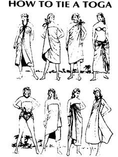 Toga Tutorial astonishing Simplicity 3647 Costumes Variety Of togas – diy tutorials Toga Party Costume, Greek Chiton, Diy Costumes, Halloween Costumes, Roman Toga, Greek Dress, School Costume, Dress Up Day, Clothing Photography