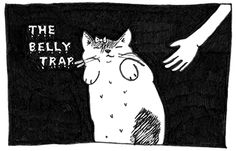 the methods of Miss Murder Kitty #halloween #webcomic #inktober http://sorrykatari.com/methods-miss-murder-kitty