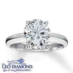 2 Carat Leo Diamond Solitaire... Will upgrade one day!