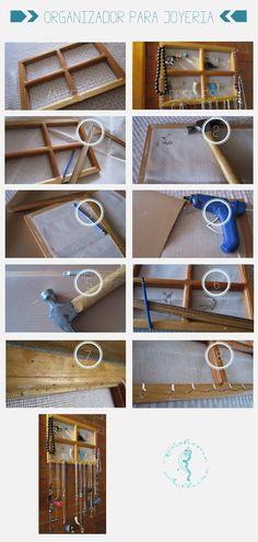 Craft | Organizador para joyería