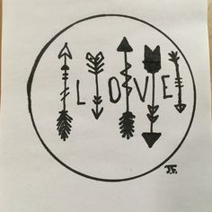 LOVE Drawing by JF