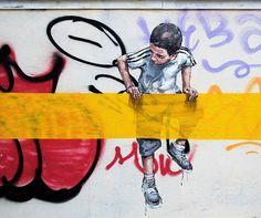 Artist: Ernest Zacharevic  Location: Lisbon Portugal  Photo: check out @ernestzacharevic for more amazing murals!  ℹ More info at StreetArtRat.com  #travel #streetart #street #streetphotography #tflers #sprayart #urban #urbanart #urbanwalls #wall #wallporn #graffitiigers #stencilart #art #graffiti #instagraffiti #instagood #artwork #mural #graffitiporn #photooftheday #streetartistry #pasteup #instagraff #instagrafite #streetarteverywhere