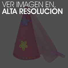 Gorro de princesa para cumpleaños en iManualidades.com: manualidades y bricolage