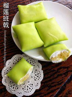 榴莲班戟 Durian Pancake