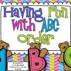 ABC order is a concept that needs to be taught, reviewed, and practiced throughout the year. This product contains worksheets (with answer keys) to help students excel with ABC order. $