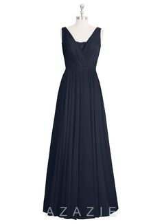 Shop Azazie Bridesmaid Dress - Ellen in Chiffon. Find the perfect made-to-order…