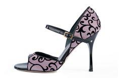 heart palpitations induced by perfect tango shoe.... Madame Pivot Tango Shoes