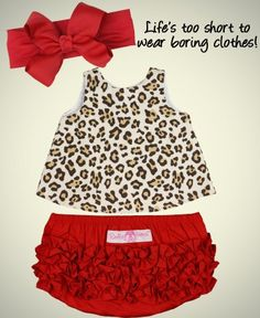Bow and bloomers