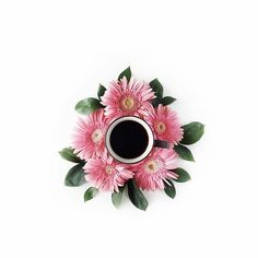 Coffee and Flowers ☕